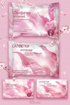 Салфетки (роз)