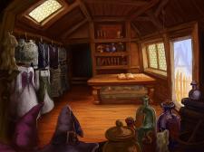 Иллюстрация - фон для компьютерной игры