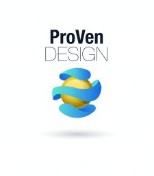 Разработка логотипа для ProVen Design