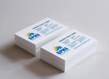 Дизайн визиток для базы отдыха «Бриз»