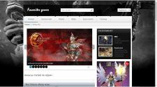Сайт под ключ на игровую тематику (база игр)