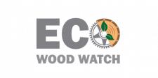 Логотип для экологических деревянных часов