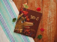 Обложка для книги Украинской народной сказки Сірко