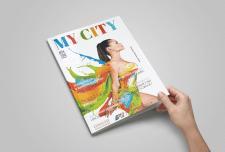 Обложка глянцевого журнала