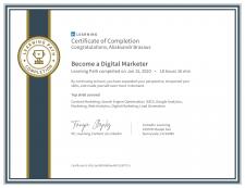 Linkedin челлендж Become A Digital Marketer