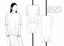 Иллюстрация/технические рисунки одежды