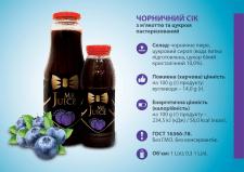Логотип и серия этикеток на соки