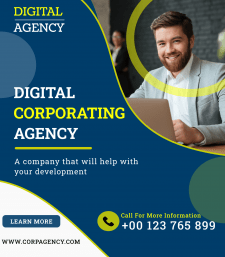 Digital corp agency Баннер