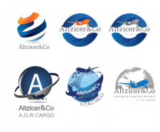Логотип туристической фирмы Altzicer&Co