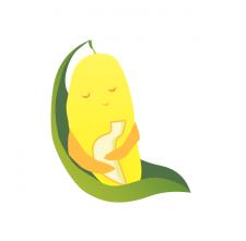Логотип для продажи вьетнамских фруктов