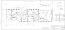 Рабочий отделочный чертеж 24х этажного здания