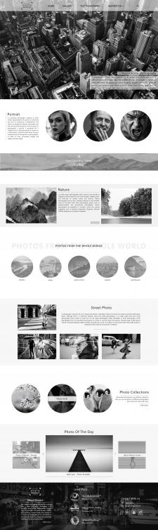 Дизайн сайта MONO Photography
