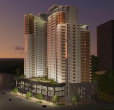 Проект торгово-жилищного комплекса. Визуализация.