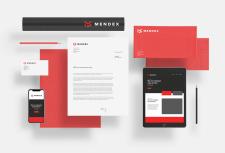 Фирменный стиль - логотип офиса MENDEX