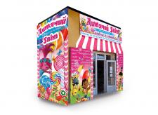 вариант оформления фасада магазина игрушек