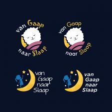 Логотип для детского тренера сна