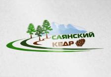 Логотип компании Саянский кедр