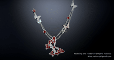 Butterfly Jewelry Set, Pendant