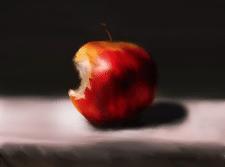 Румяное яблоко