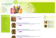 Интернет-магазин компании «Mediprof»