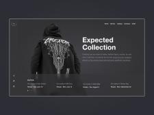 Одежда | Магазин | Дизайн | Концепт сайта