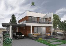 Дом в современном стиле для постоянного проживания