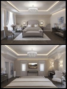 дизайн спальні в класиці  в3