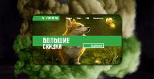 """Веб-дизайн """"4 ЛАПЫ"""""""
