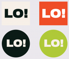 Логотип для «Lo! Gallery»