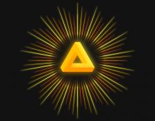 Saint Penrose triangle