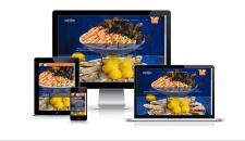 Сайт рыбного ресторана в г. Киев