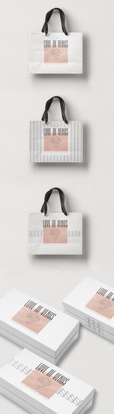 """""""LOVE OF VENUS"""" Фирменный стиль и упаковка"""