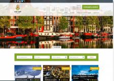 сайт под ключ  для туристической компании GO-UP