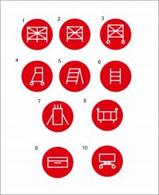 Иконки для сайта лестниц
