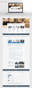 Дизайн сайта для клиники