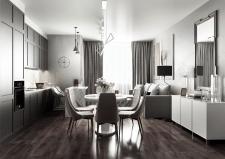 Apartment (  Living Room / Bedroom / Bathroom)