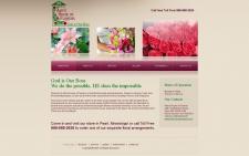 Сайт под ключ - галерея цветов
