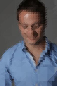 Low-Poly Portret Evgen