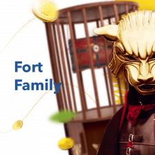 Разработка презентации для  Fort Family