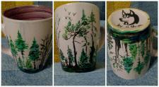 роспись чашки