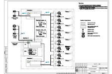 Схема видеонаблюдения БЦ