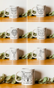 Дизайн чашек
