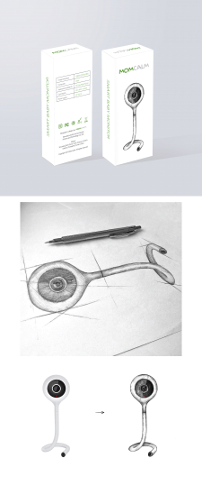 Дизайн упаковки Smart Baby Monitor