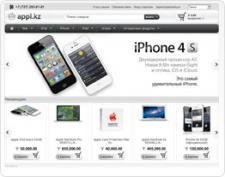 Создание сайта Appl.kz - iPhone 4S, iPad 3, iMac, iPod, Macbook