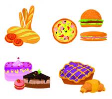 Торты и хлебобулочные изделия