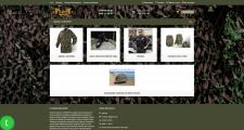 Магазин милитари одежды Opencart2