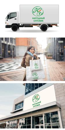 Логотип для сети продуктовых магазинов