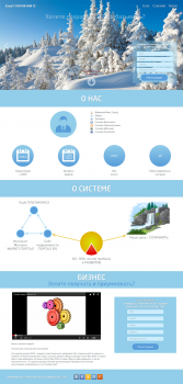 Дизайн Landing Page для Platinum12