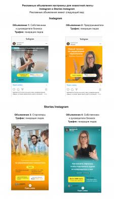 Таргетированная реклама для семинара в Instagram