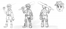 Character Concept-art